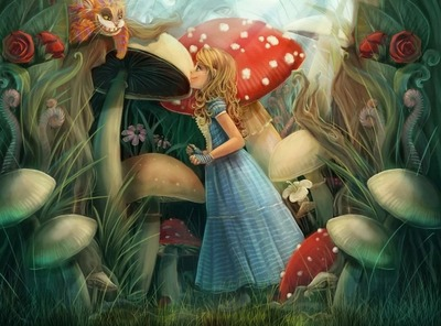 """Алиса в Стране Чудес"" - стихи про персонажей сказки"