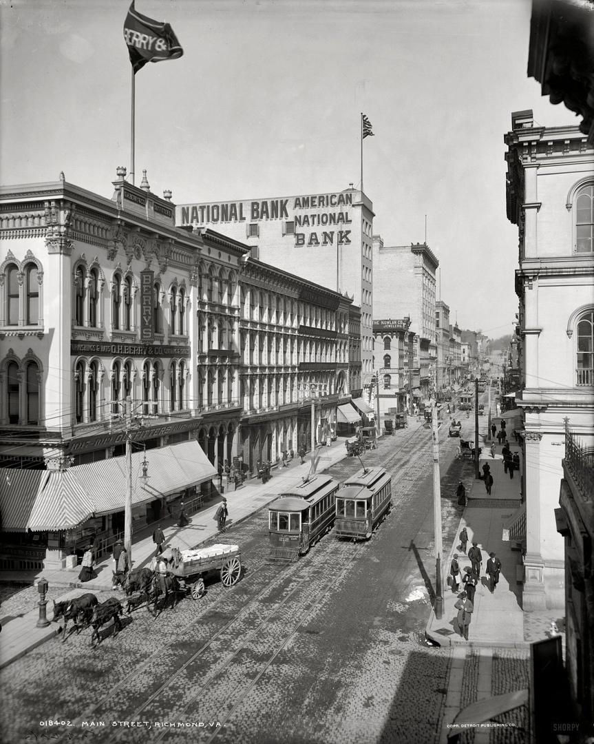 HD-фотографии городов США сделанные в 1900-1915 годах, изображение №33
