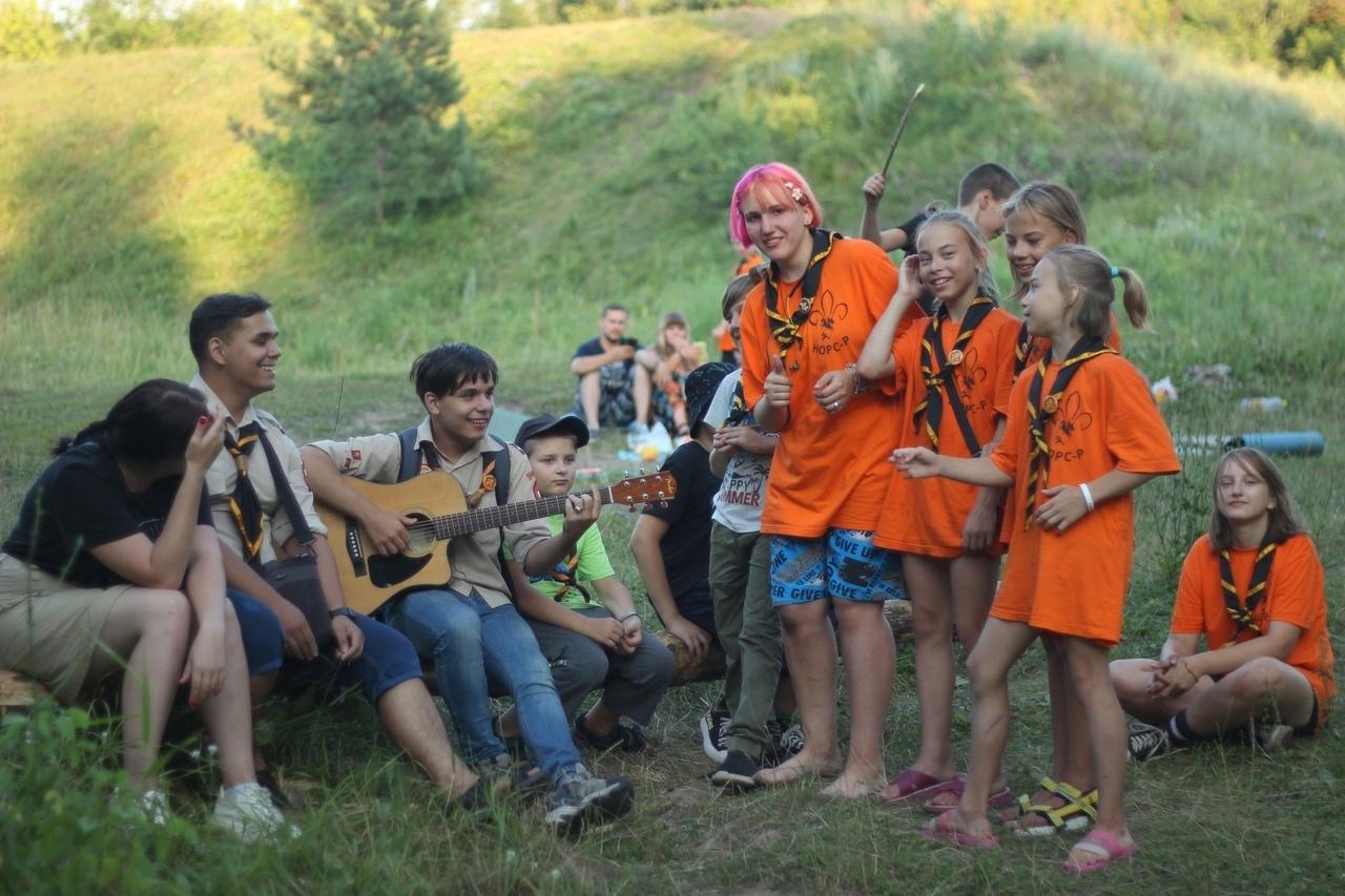 Петровские скауты организовали досуг для семей, в которых воспитываются дети с ограниченными возможностями здоровья