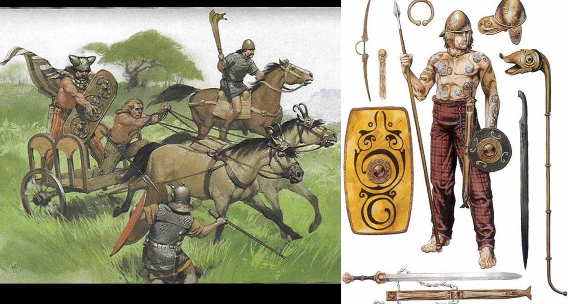Воины бриттов