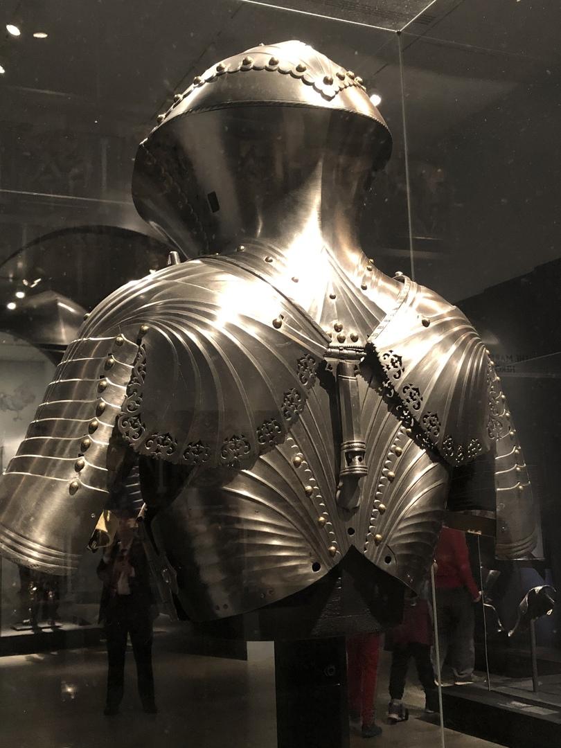 Доспех Максимилиана для Joust of Peace (защита спины)