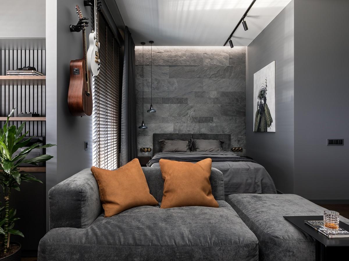 Интерьер квартиры-студии 40,8 кв.