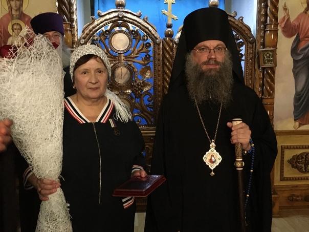 Бухгалтера Ильинского храма г. Мичуринска наградил...