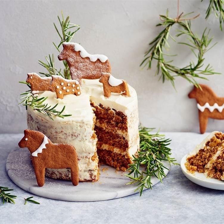 Финский рождественский морковный торт 🍰