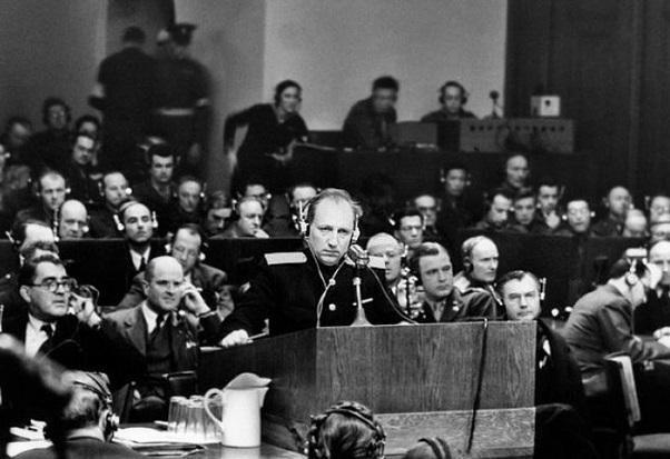 Последние слова Вождей Третьего Рейха на Нюрнбергском процессе .
