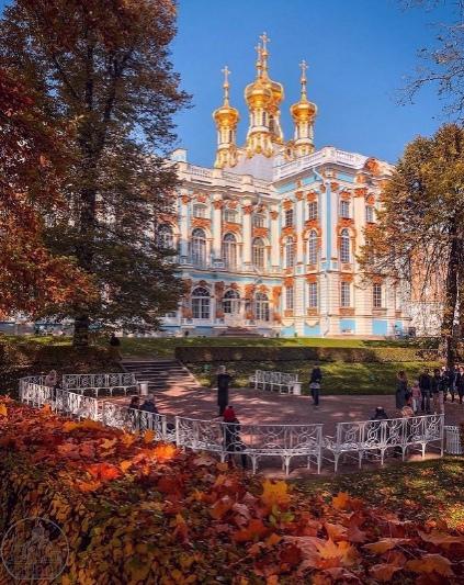 18 октября Екатерининский парк станет бесплатным 🍂...