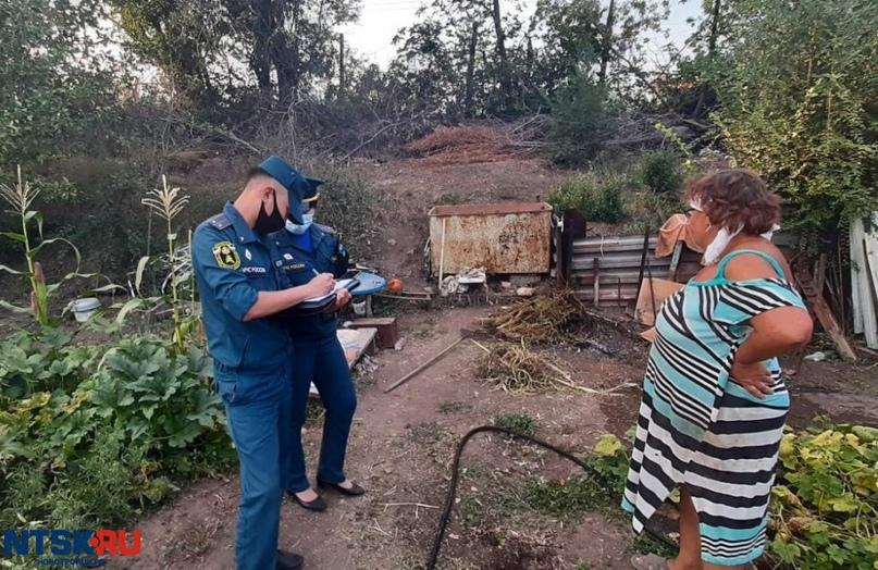 Новотроицким садоводам, сжигающим ветки и сухую ботву, грозят штрафы