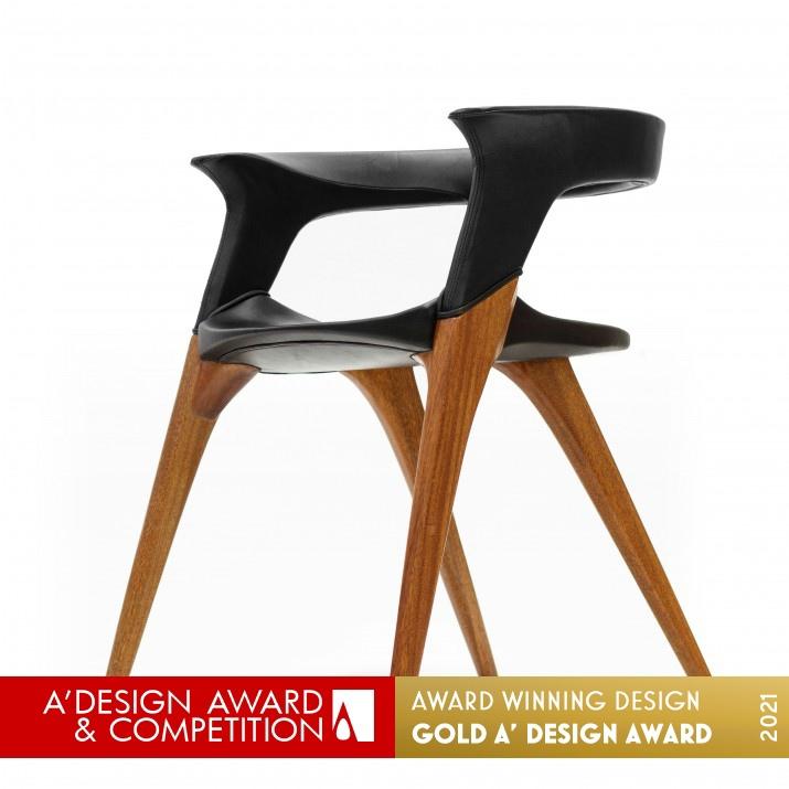 The Doberman Chair Armchair by Lianghao Zha