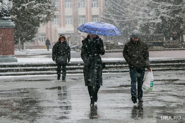 Синоптики предупреждают о снеге и сильном ветре в ...