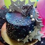 Торт «Космос» со сливочно-творожным кремом