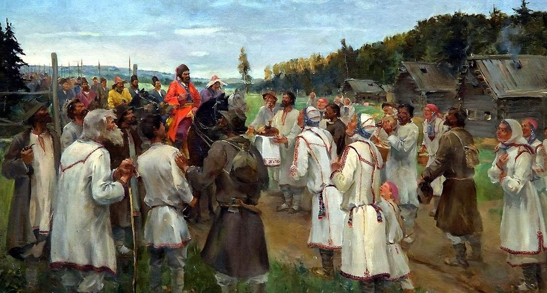 Пугачев и крестьяне