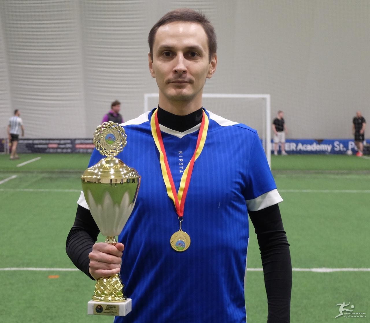 Александр Соколик («Интернационале») — победитель дивизиона Хирхасова.