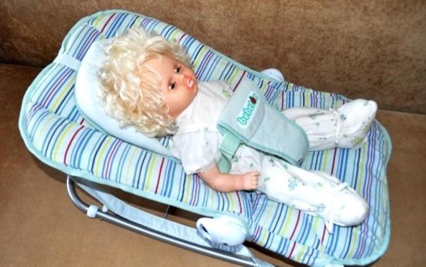 Продам детский шезлонг-люльку Bebyton для новорожд...