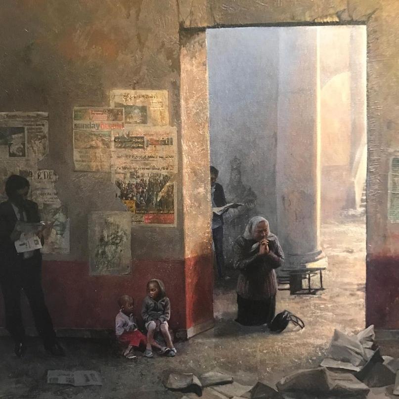 Французский художник-реалист. Alain Senez, изображение №16