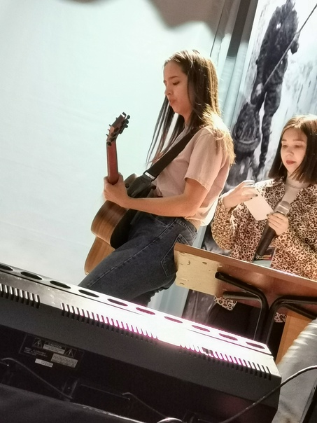 Аделина Якупова Настройка гитары