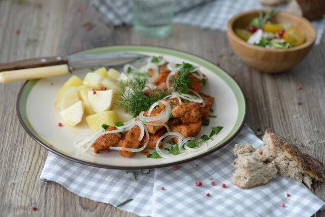Куриное филе с аджикой! Мультиварка и простые рецепты для мультиварки
