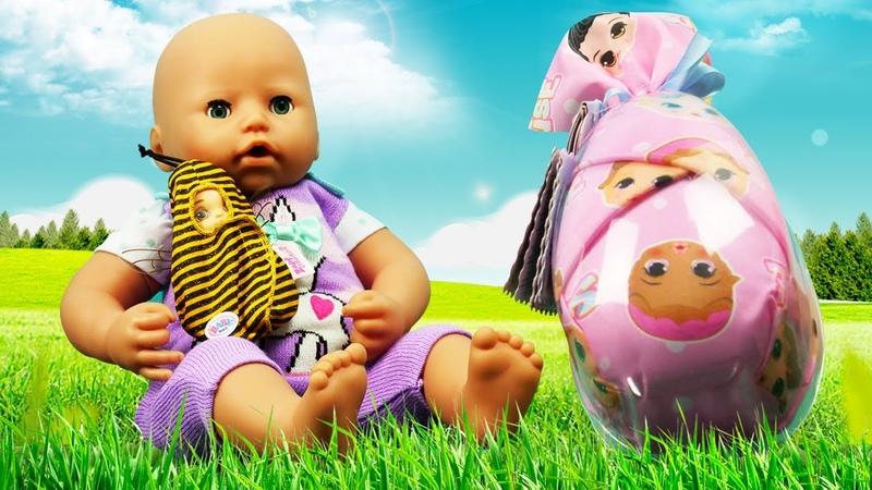 Видео игры для детей Сюрприз для куклы БЕБИ Анабель Детские мультики с Baby Born