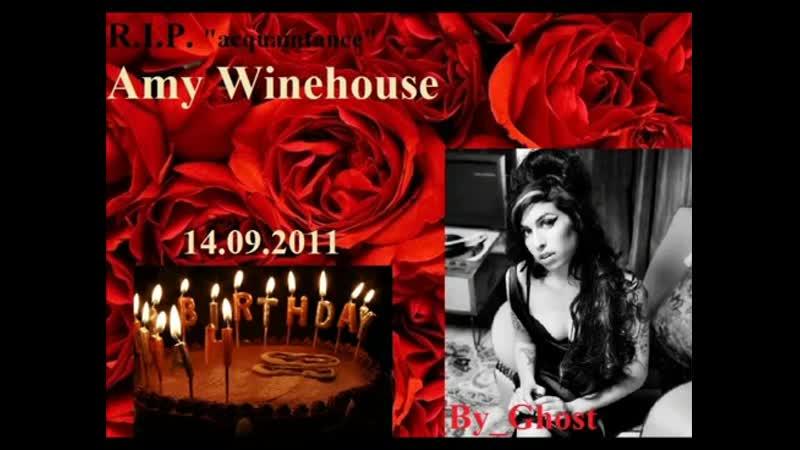 Happy Birthday Amy Winehouse 14-09-2011