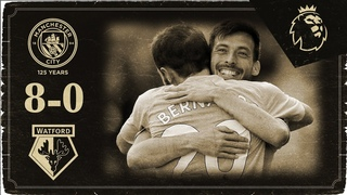 HIGHLIGHTS | Man City 8-0 Watford | Silva, Aguero, Mahrez, Bernardo (3), Otamendi, De Bruyne