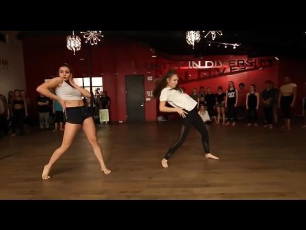 FT.Maddie Ziegler Kalani Hilliker Dancing to - Shape Of You