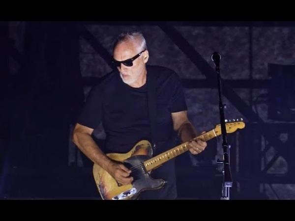 David Gilmour Run Like Hell Pompeii 2016