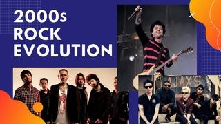 2000s Rock Evolution. The Best 2000s Rock Songs.