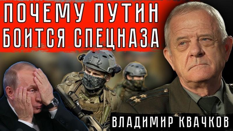 ПОЧЕМУ ПУТИН БОИТСЯ СПЕЦНАЗА ВладимирКвачков