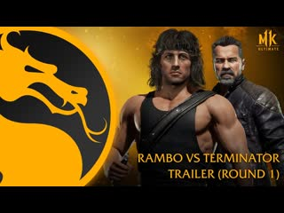Mortal Kombat 11 Ultimate   Official Rambo vs. Terminator Trailer (Round 1)