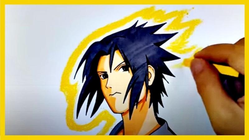 Quer Aprender Como Desenhar Sasuke Uchiha Junte se A Nós Como Desenhar Animes Facil
