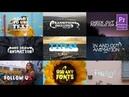 2d Lyric Titles Premiere Pro MOGRT AF Templates videohive
