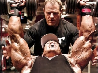 Flex Lewis: Defending the Olympia Title (Part V) - Triceps with Rich Gaspari