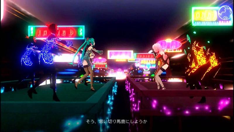 【初音ミク】ワールズエンド・ダンスホール【Project DIVA F】