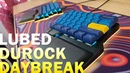 Durock Daybreak Silent Typing Sounds [LUBED FILMED] | Silent Alpaca analog 67g