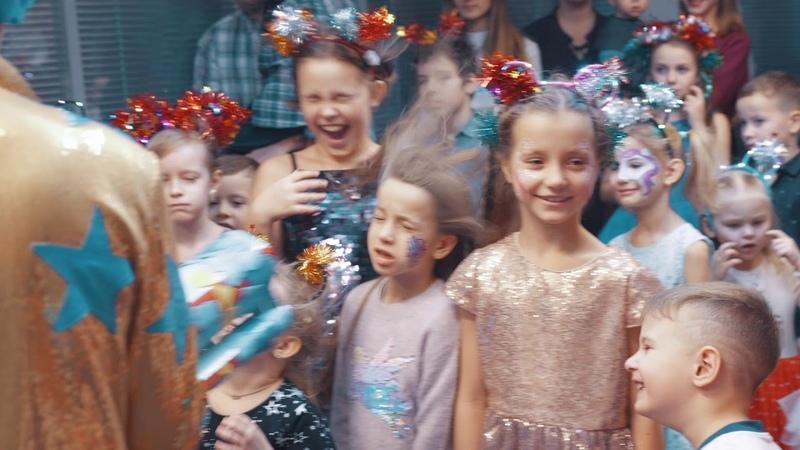 Дед Мороз и Снегурочка, Научное шоу, Бумажная дискотека праздник для детей