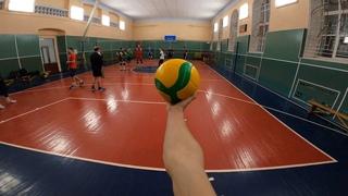 Волейбол от первого лица Александра | VOLLEYBALL FIRST PERSON | BEST PLAYER | 47 episode