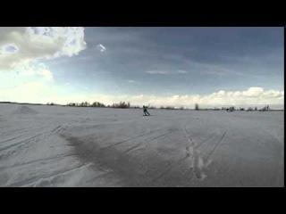 Открытый чемпионат ХМАО по зимнему кайтингу 2014