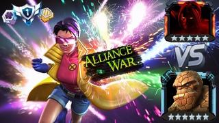 📱🎶Marvel: Alliance War   23 Сезон   Void 5⭐ (1%HP) VS THING 6⭐