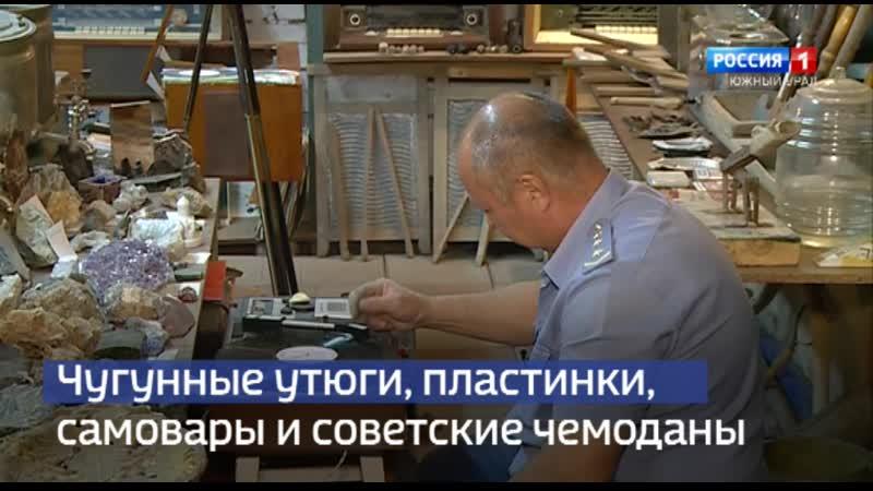 Коллекционер из Магнитогорска хранит антиквариат в секретном бункере