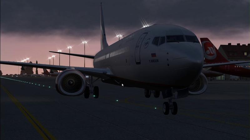 Симулятор: X-plane 11 Boeing 737-800 Рейс: Адлер-Домодедово (URSS/UUDD)