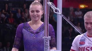 Daria Spiridonova. 2019 World Championships. TF. UB