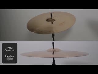 Centent Cymbals - TANG 18 Crash