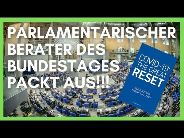 Parlamentarischer Berater des Bundestages packt aus Corona und der Umbau unserer Gesellschaft