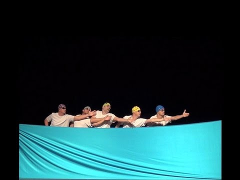 Swimming Skit at Oak Grove Lutheran Schools Variety Show 2013 in Fargo, North Dakota. SYNC OR SWIM!