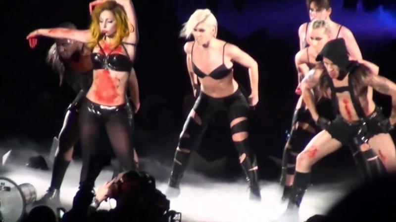 Lady Gaga The Monster Ball Tour DVD Part 22 33 Teeth HD
