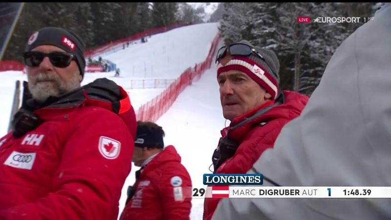 FIS Alpine Ski World Cup 2019 20 Wengen SUI Men's Slalom 2nd run