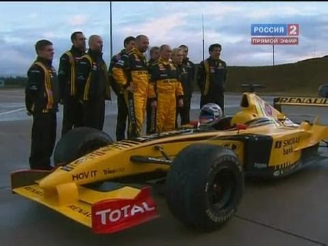 Владимир Путин протестировал болид Формулы 1