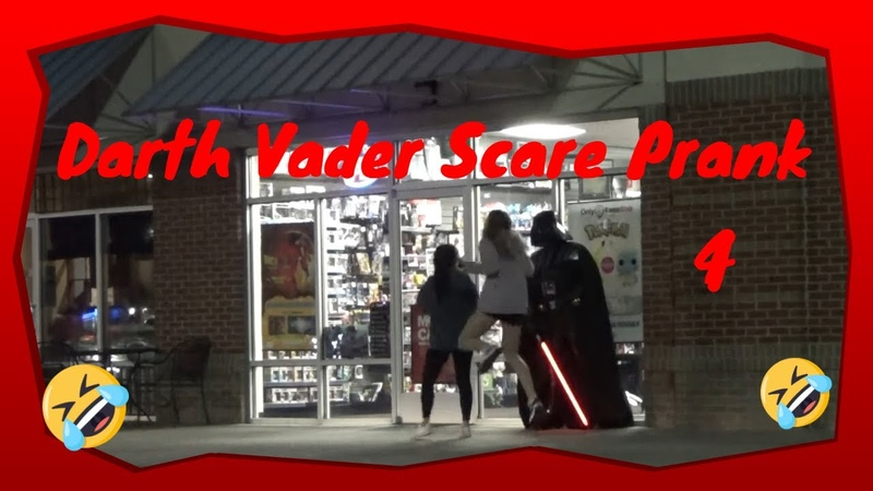 Darth Vader Scares and goes to Arby's