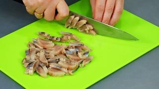 ТРИ необычных салата из обычной СЕЛЁДКИ! ЧТО-ТО НОВЕНЬКОЕ на праздничный стол!