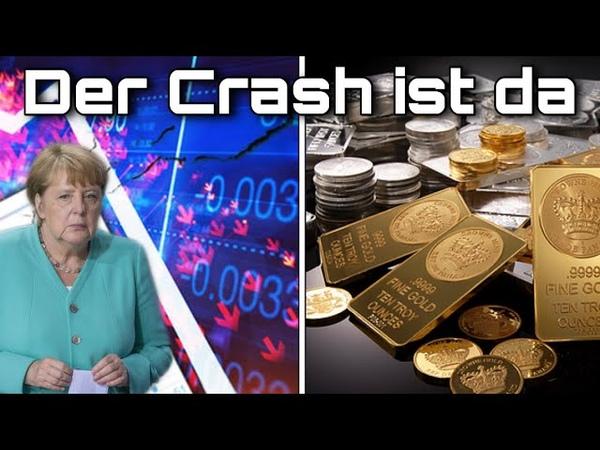 Der Crash ist da Vermögen retten mit Gold und Silber