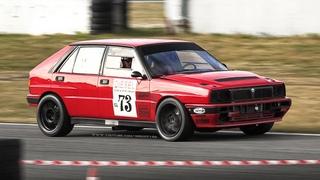 Lancia Delta HF Integrale 16V Proto: Accelerations & Great Sounding  Turbo Engine!